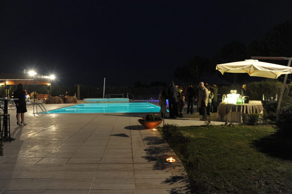 Meetings, Events in Unusual location Outdoor pool private event Rome