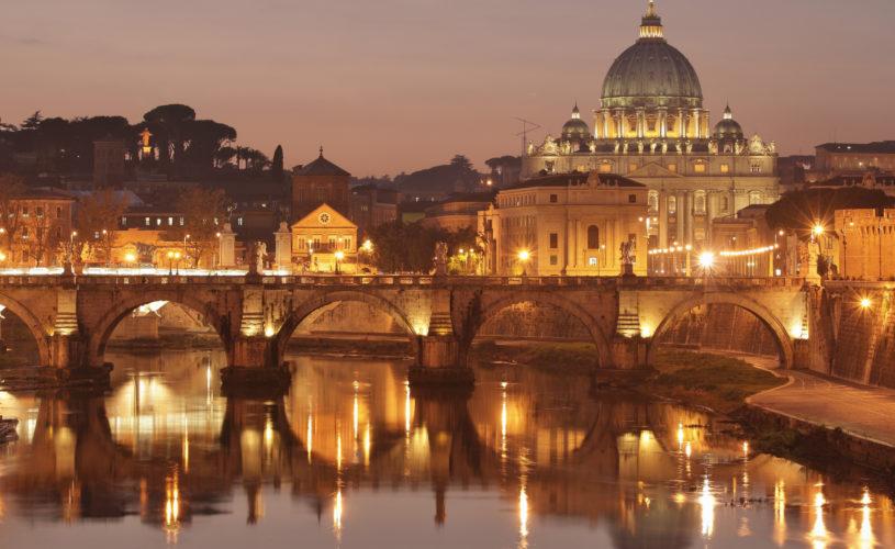 Saint Peter night view