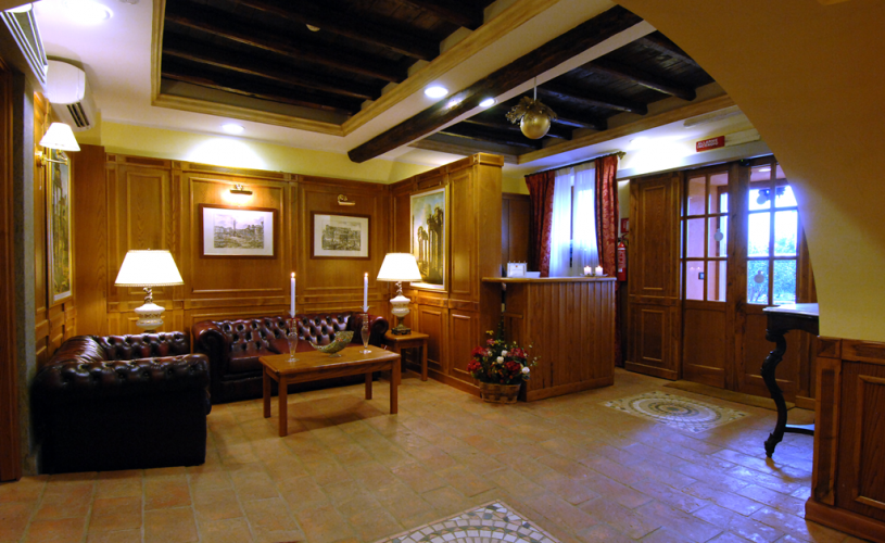 Hall Hotel Casale Certosa Rome Restaurant