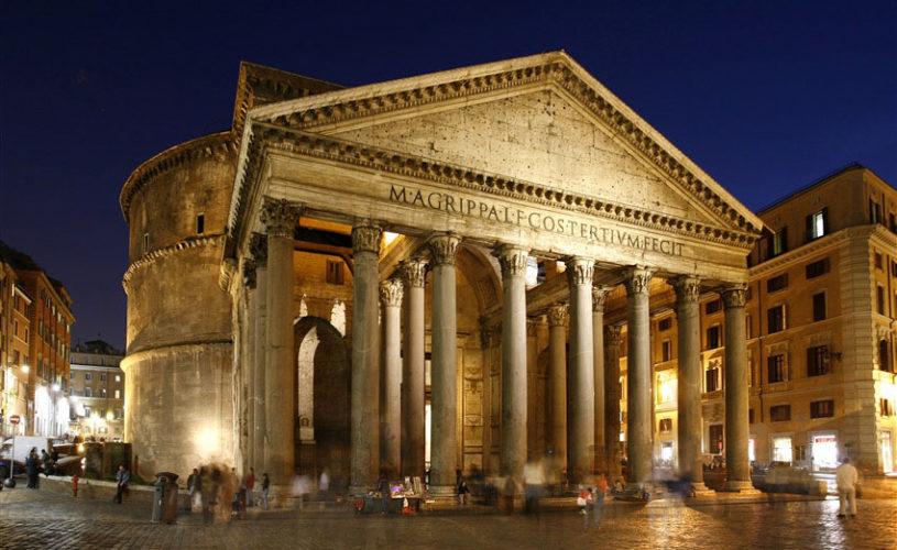 Pantheon-by-night