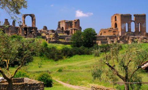 Villa dei Quintili la più grande antica e grande villa privata, sequestrata dall'imperatore….